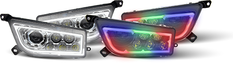 Extreme LED Halo Headlights for Polaris